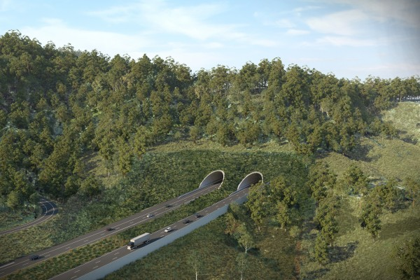 EIS Artist Impression - Gatelys Road tunnel