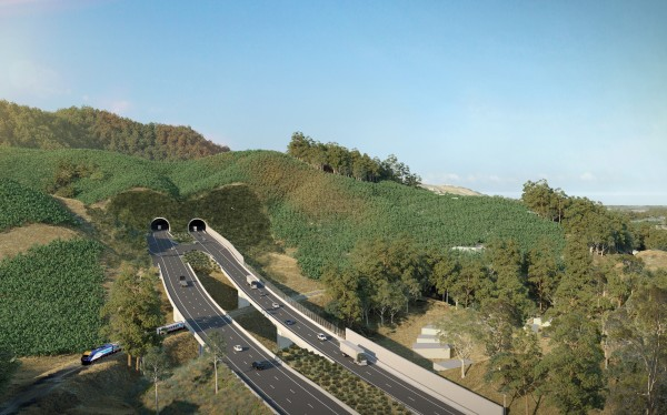 EIS Artist Impression - Shephards Lane tunnel