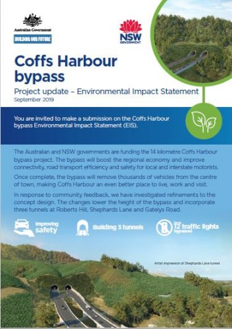 Coffs Harbour bypass EIS project update